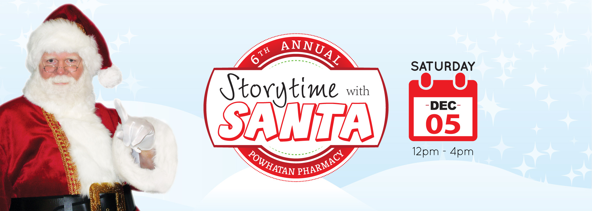 6th Annual Storytime with Santa (primary slider)